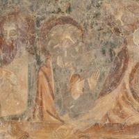 Krisztus életének legfontosabb jeleneteit ábrázoló falképeket tártak fel Visken