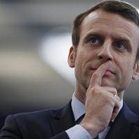 Macron tarolt a katolikus választók között