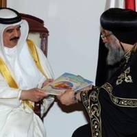 Muszlim királyi földre épül a kopt templom