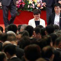 Tüntetés árnyékolta be Hongkong Kínához való visszakerülésének évfordulóját