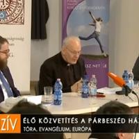 Bíboros és rabbi párbeszéde a zsidó-keresztény gyökerekről