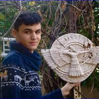 Művészettel küzd az ISIS rombolása ellen a tizenéves iraki keresztény fiú