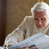 Benedek pápa jó formában van