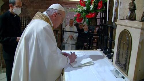 Ferenc pápa megint megmondta a tuttit