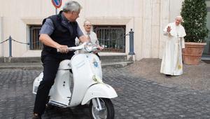 Vespa: az új pápai járgány