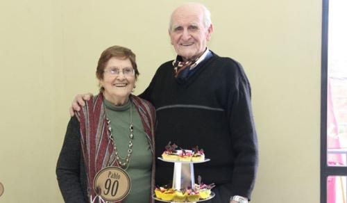69 éves házassági évfordulójukat ünnepelték a karanténban
