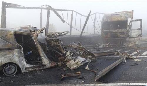Heten meghaltak egy balesetben az M5-ös autópályán
