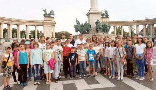 Ukrajnai nehéz sorsú gyerekek tábora kezdődött a Velencei-tónál