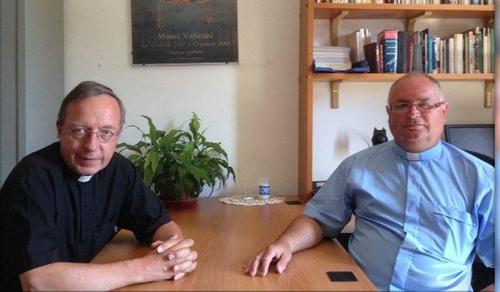 Két magyar pap hálaadó szentmiséje a Szent Péter bazilikában