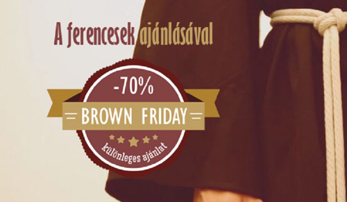 Indul a Brown Friday!