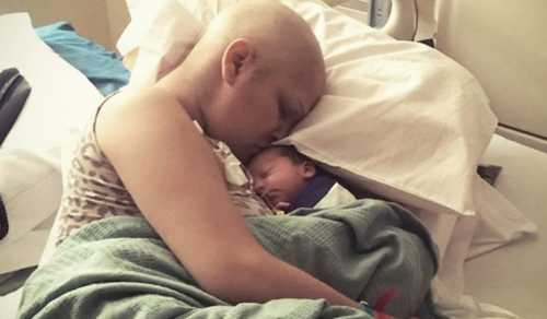 A várandós nő vállalta a kemoterápiát: a baba egészségesen született meg