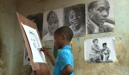 Gyönyörű rajzaival lett világhírű a 11 éves kisfiú