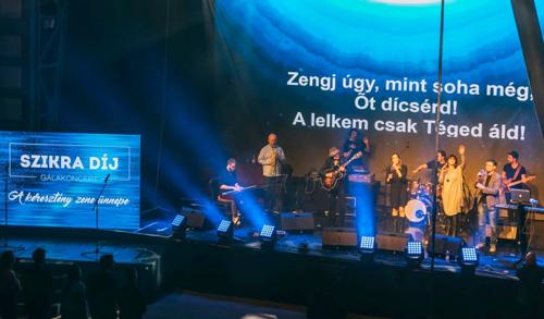 A Csend lett a legjobb dal a keresztény zene ünnepén