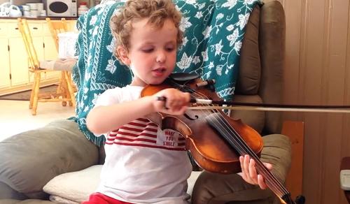 A hangszer maga a gyerek