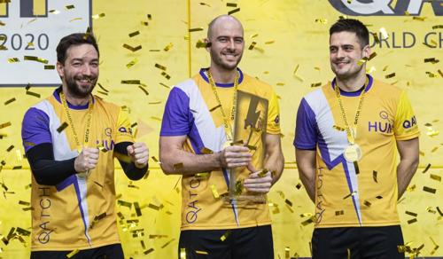 A magyar válogatott nyerte az első qatch-világbajnokságot
