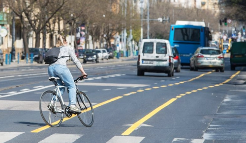 Kerékpársáv – kontra, rekontra