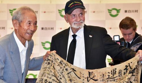 73 év után váltotta be ígéretét a világháborús veterán