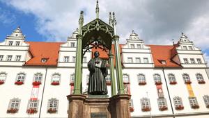 Luther szószékén prédikál Fabiny Tamás