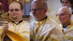 Pappá szentelték a pap fiának a fiát