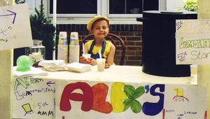 A 8 éves kislány, aki limonádéval jobbá tette a világot
