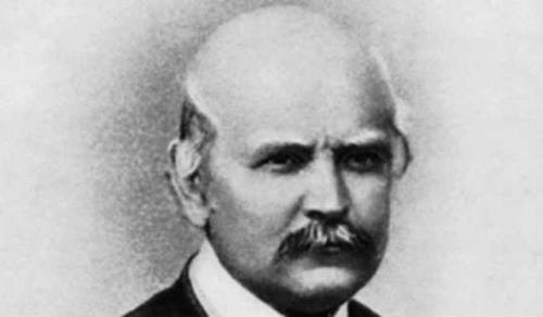 Semmelweis Ignác szobrát koszorúzták meg magyar orvosprofesszorok Chicagóban
