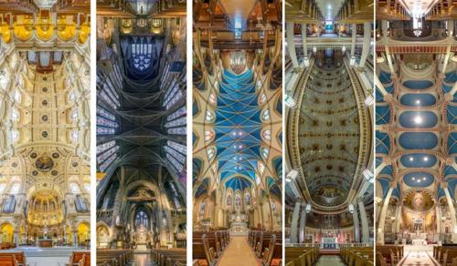 Gyönyörű panorámaképek a világ templomaiból