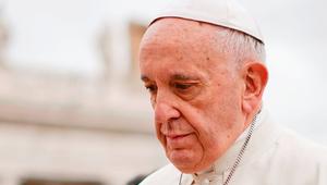 Ferenc pápa: Bocsánatot kérünk!