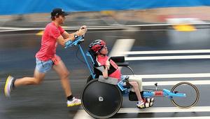 A mozgássérült triatlonista a vb-re készül
