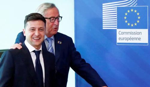 Ukrajna az Európai Unióba tart