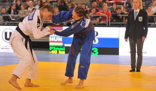 Aranyérmes lett Amira Luca az ifjúsági cselgáncs vb-n