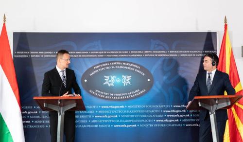 Magyarország védőfelszereléssel segíti Észak-Macedóniát