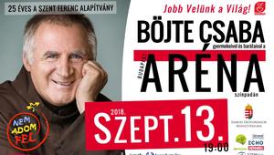 Böjte Csaba: Találkozzunk szeptember 13-án Budapesten!
