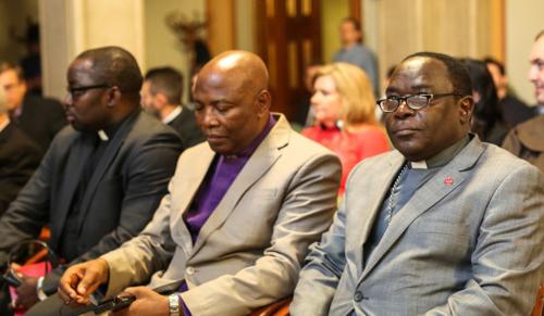 Nigériai megyéspüspök köszönte meg a Magyarországról jött támogatást