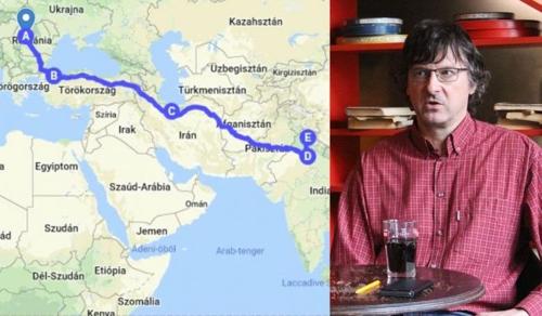 Hétezer kilométeres gyalogútra indult Kőrösi Csoma Sándor útvonalán egy erdélyi újságíró