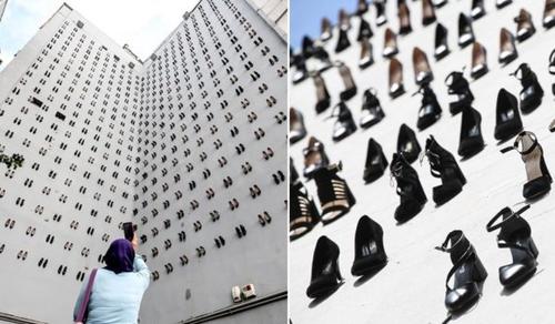 440 pár magassarkú cipő