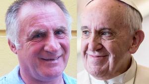 Ferenc pápához készül Csaba testvér