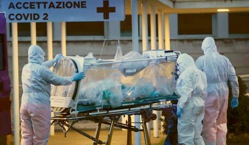 Száznál több orvos halt meg koronavírus miatt Olaszországban