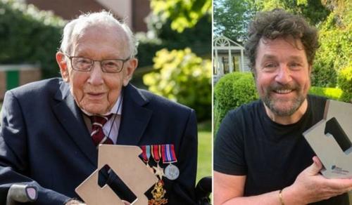A brit posta születésnapi bélyegzővel köszönti a százéves adománygyűjtő veteránt