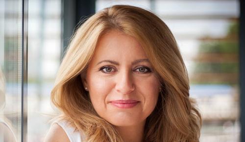 Beiktatták hivatalába Szlovákia első női elnökét