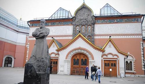 Beloptak egy képet a moszkvai Tretyjakov Képtárba