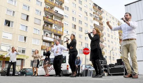 Színházzá válnak a lakótelepek Debrecenben