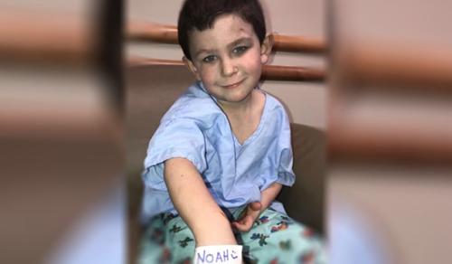 Egy ötéves kisfiú megmentette a családját a tűztől