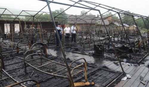 Oroszországban leégett egy sátortábor - gyerekek az áldozatok