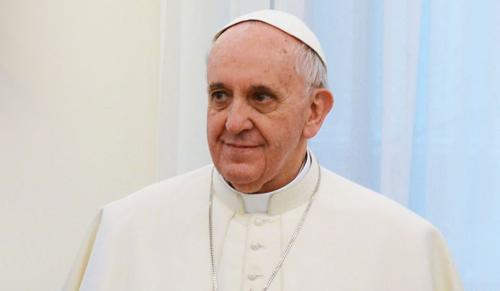 A szabadságról beszélt Ferenc pápa a külföldi tudósítókkal találkozva
