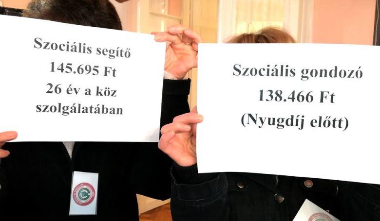 Sztrájkolnak a szociális ágazat dolgozói szerdán