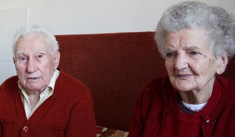 77 éve fogadott örök hűséget az ország alighanem legidősebb házaspárja
