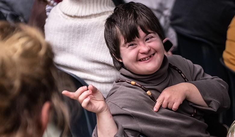 Közös karácsonyi ünnepség a fogyatékos személyek ügyéért
