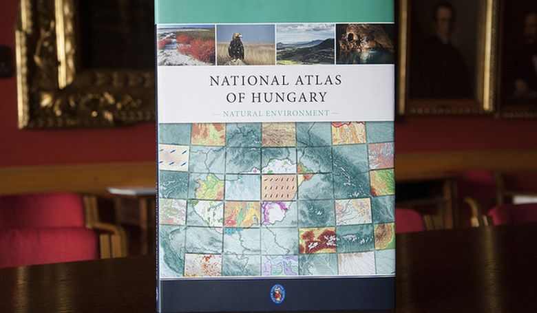 Világelső lett a magyar nemzeti atlasz angol nyelvű kiadása