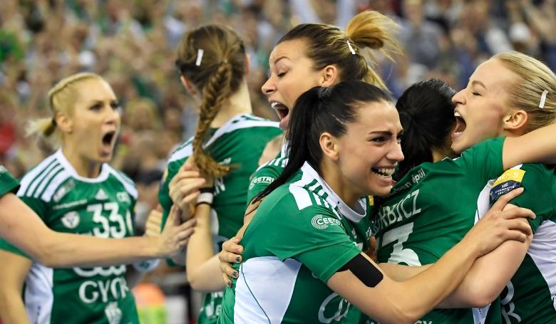 Sorozatban harmadszor Európa legjobbja a győri női kézilabda csapat