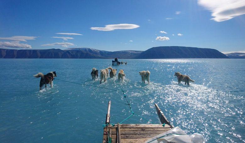 Grönlandi hőhullám - rekordot döntött a héten az olvadás mértéke